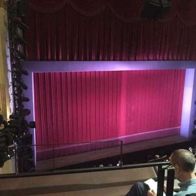 Samuel J. Friedman Theatre, Abschnitt: Mezz, Reihe: A, Platz: 1