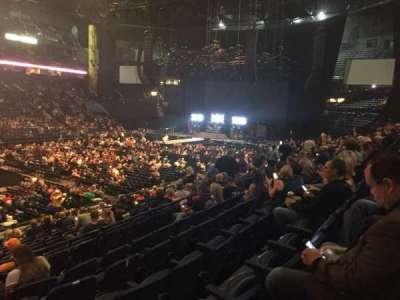 Bridgestone Arena, Abschnitt: 104, Reihe: F, Platz: 22
