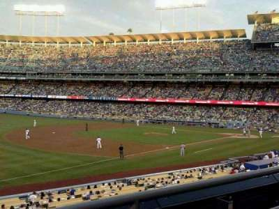 Dodger Stadium, Abschnitt: 151LG, Reihe: B, Platz: 2