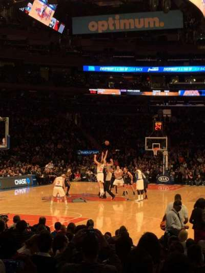 Madison Square Garden, Abschnitt: 9, Reihe: 13, Platz: 9