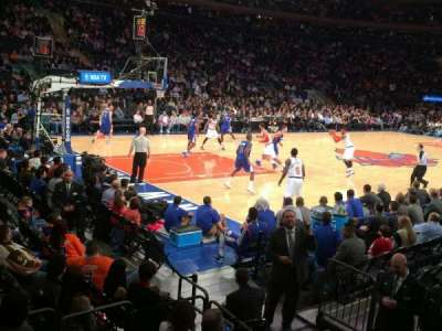 Madison Square Garden, Abschnitt: 105, Reihe: 1, Platz: 12