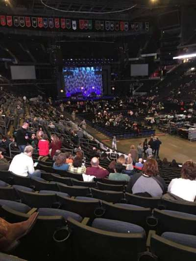 Nationwide Arena, Abschnitt: 111, Reihe: U, Platz: 8