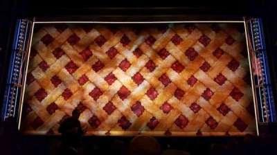 Brooks Atkinson Theatre, Abschnitt: orch, Reihe: h, Platz: 108