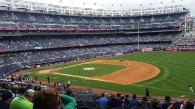 Yankee Stadium, Abschnitt: 213, Reihe: 12, Platz: 9