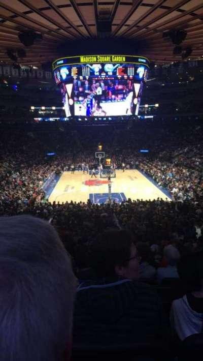 Madison Square Garden, Abschnitt: 112, Reihe: 22, Platz: 12