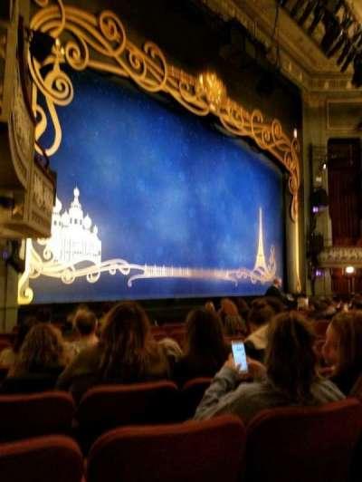Broadhurst Theatre, Abschnitt: Orch Left, Reihe: K, Platz: 21