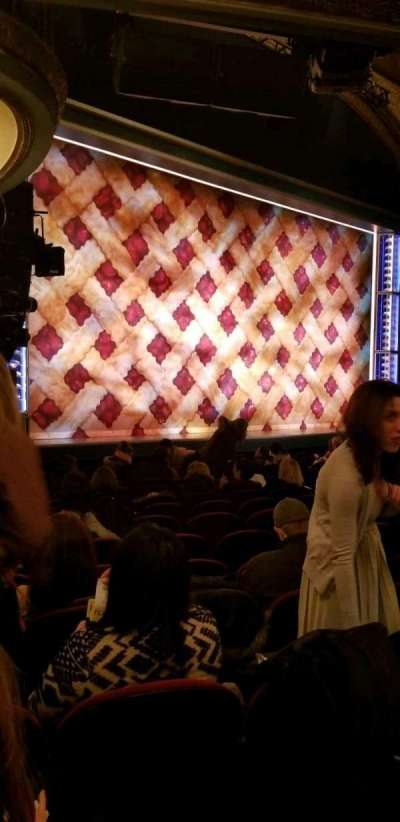 Brooks Atkinson Theatre, Abschnitt: Orchestra Left, Reihe: N, Platz: 25