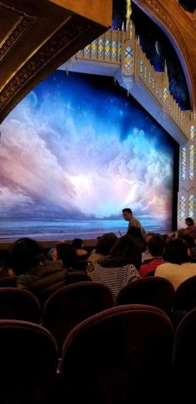 Eugene O'Neill Theatre, Abschnitt: Orch Left, Reihe: K, Platz: 25