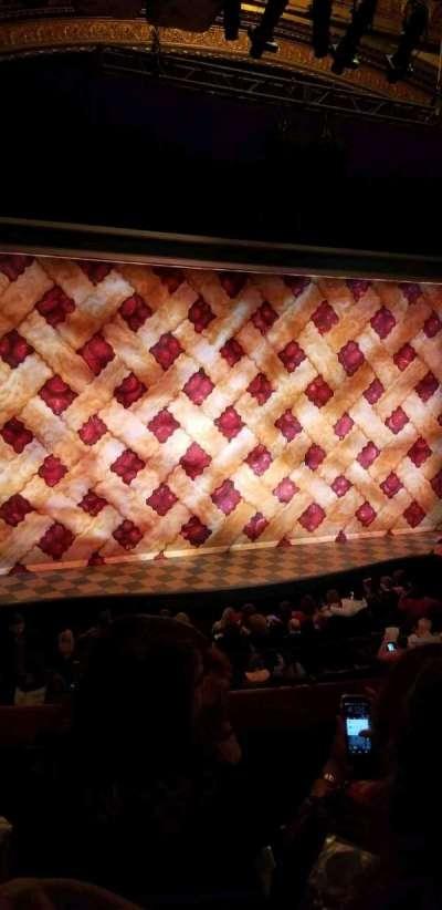 Brooks Atkinson Theatre, Abschnitt: FMEZZ, Reihe: C, Platz: 5