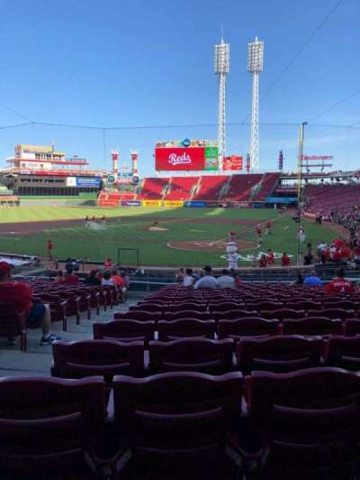 Great American Ball Park, Abschnitt: 121, Reihe: CV, Platz: 14