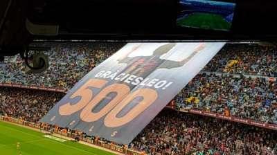 Camp Nou, Abschnitt: 317, Reihe: 34, Platz: 04