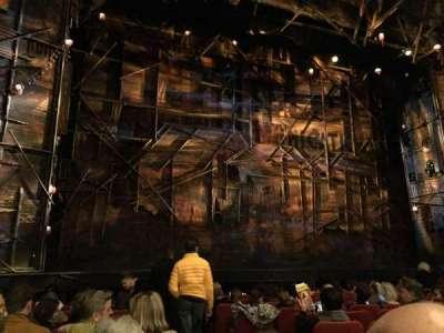 Broadway Theatre - 53rd Street, Abschnitt: Orchestra Left, Reihe: K, Platz: 2