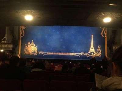 Broadhurst Theatre, Abschnitt: Orchestra Center, Reihe: Q, Platz: 112