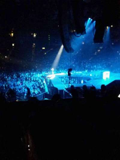 Oracle Arena, Abschnitt: 124, Reihe: 21, Platz: 17