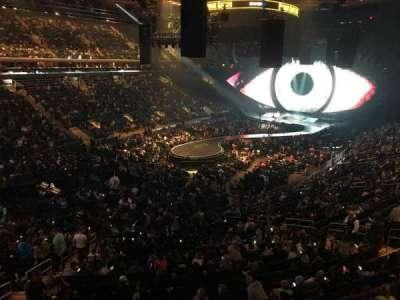 Madison Square Garden, Abschnitt: 207, Reihe: 1, Platz: 6