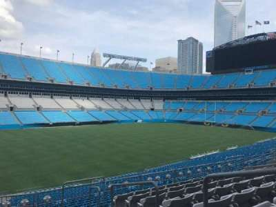 Bank of America Stadium, Abschnitt: 348, Reihe: 8, Platz: 1
