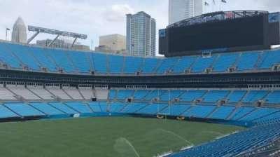 Bank of America Stadium, Abschnitt: 349, Reihe: 8, Platz: 2