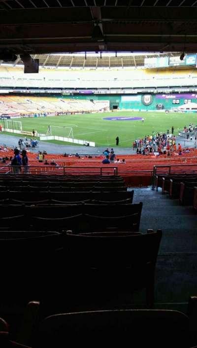 RFK Stadium, Abschnitt: 315, Reihe: 11, Platz: 1