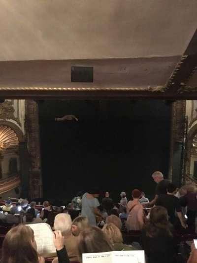 Palace Theatre (Broadway), Abschnitt: Rear Mezzanine, Reihe: M, Platz: 104