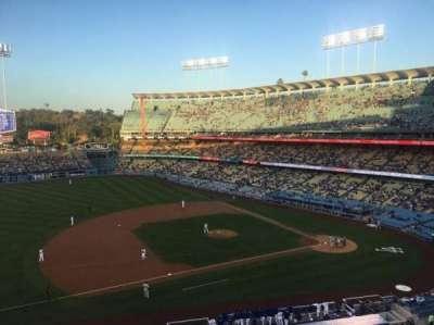 Dodger Stadium, Abschnitt: 23RS, Reihe: B, Platz: 11