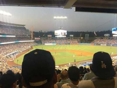 Dodger Stadium, Abschnitt: 116LG, Reihe: S, Platz: 6