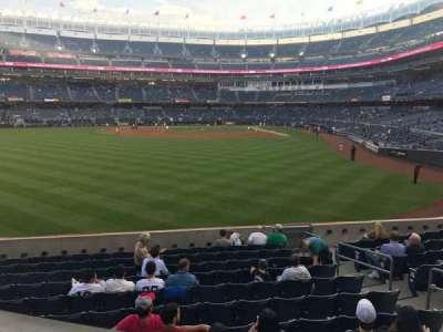 Yankee Stadium, Abschnitt: 235, Reihe: 2, Platz: 1