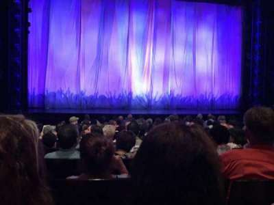 Marquis Theatre, Abschnitt: Orchestra, Reihe: K, Platz: 106