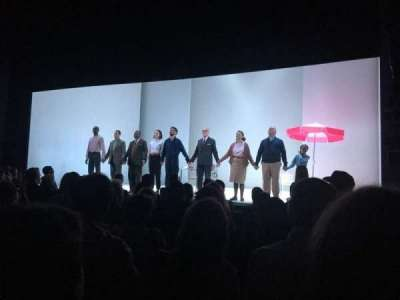 Hudson Theatre, Abschnitt: Orchestra, Reihe: H, Platz: 121