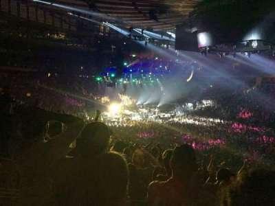 Madison Square Garden, Abschnitt: 119, Reihe: 22, Platz: 8