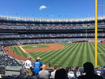 Yankee Stadium, Abschnitt: 208, Reihe: 7, Platz: 13