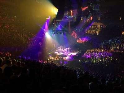 Madison Square Garden, Abschnitt: 116, Reihe: 22, Platz: 9