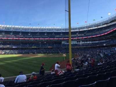 Yankee Stadium, Abschnitt: 132, Reihe: 10, Platz: 20