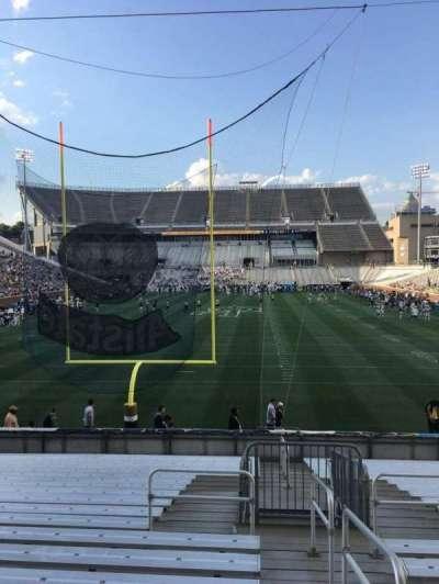 Bobby Dodd Stadium, Abschnitt: 134, Reihe: 22, Platz: 33