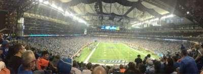 Ford Field, Abschnitt: 217, Reihe: 10, Platz: 15