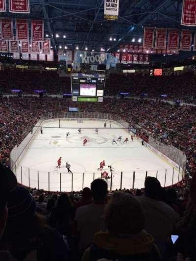 Joe Louis Arena, Abschnitt: 201, Reihe: 10