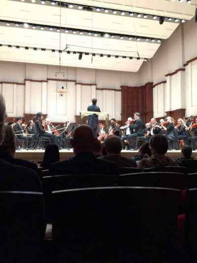 Orchestra Hall, Abschnitt: MF, Reihe: H, Platz: 8