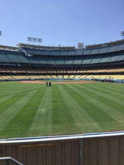 Dodger Stadium, Abschnitt: 309PL, Reihe: B, Platz: 18