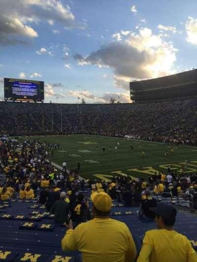 Michigan Stadium, Abschnitt: 37, Reihe: 34, Platz: 3