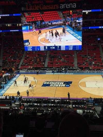 Little Caesars Arena, Abschnitt: M28, Reihe: 4, Platz: 1