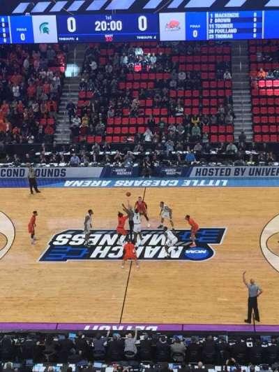 Little Caesars Arena, Abschnitt: M28, Reihe: 4, Platz: 2