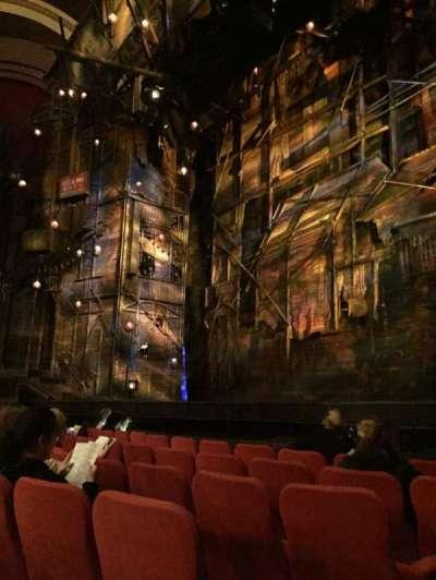 Broadway Theatre - 53rd Street, Abschnitt: Orch, Reihe: F, Platz: 1