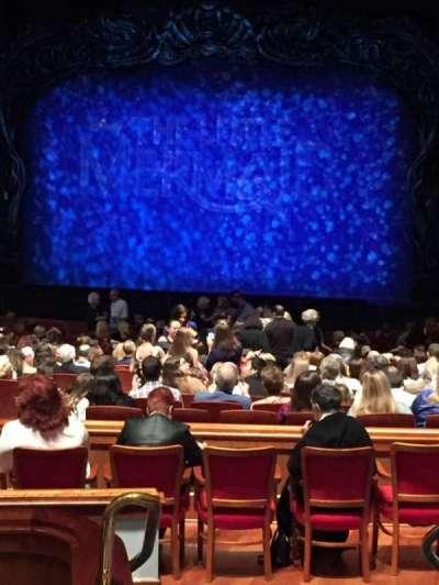 Au-Rene Theatre at the Broward Center, Abschnitt: Orch, Reihe: FF, Platz: 2