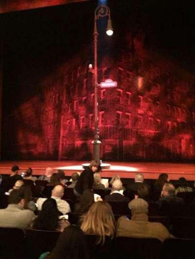 Longacre Theatre, Abschnitt: Orch, Reihe: H, Platz: 108