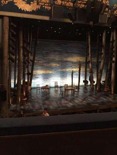 Gerald Schoenfeld Theatre, Abschnitt: Mezz, Reihe: B, Platz: 3