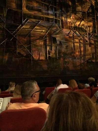 Broadway Theatre - 53rd Street, Abschnitt: Orch, Reihe: G, Platz: 4