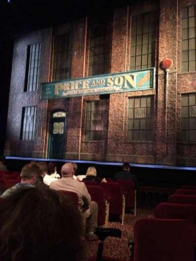 Al Hirschfeld Theatre, Abschnitt: Orch, Reihe: H, Platz: 4