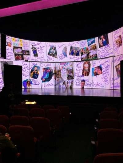 National Theatre (DC), Abschnitt: Orch, Reihe: H, Platz: 2
