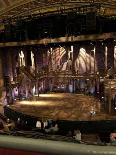 Richard Rodgers Theatre, Abschnitt: Mezz, Reihe: A, Platz: 2
