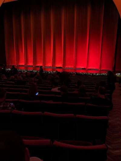 Radio City Music Hall, Abschnitt: Orch, Reihe: UU, Platz: 301