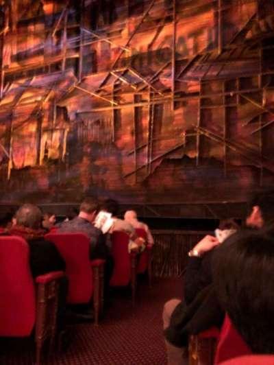 Broadway Theatre - 53rd Street, Abschnitt: Orch, Reihe: G, Platz: 2